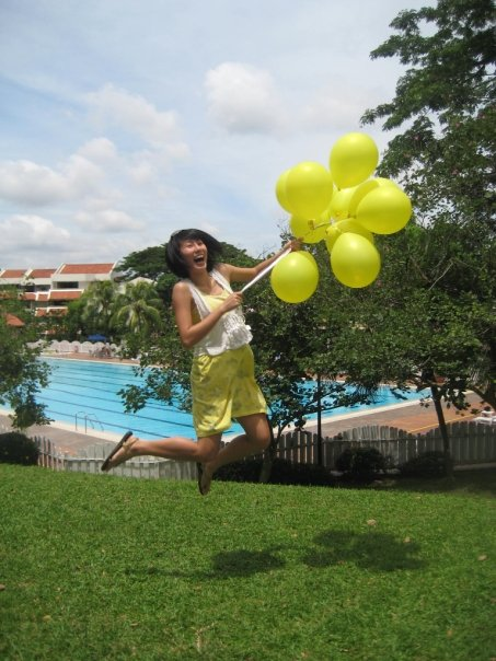fly away with balloons